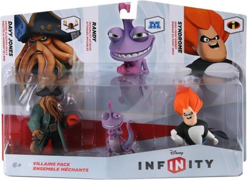 Disney Infinity Figure 3-Pack: VillainsToys &amp; Hobbies<br>Disney Infinity Figure 3-Pack: Villains<br>