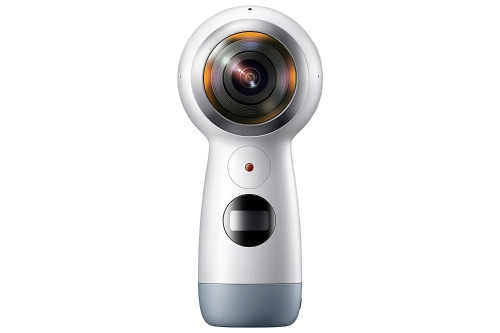 Samsung Gear 360 (2017 Edition) Real 360° 4K VR Camera (US Version with Warranty)Cameras &amp; Photo Accessories<br>Samsung Gear 360 (2017 Edition) Real 360° 4K VR Camera (US Version with Warranty)<br>