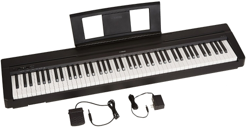 Yamaha P71 88-Key Weighted Action Digital Piano with Sustain Pedal and Power Supply (Amazon-Exclusive)Toys &amp; Hobbies<br>Yamaha P71 88-Key Weighted Action Digital Piano with Sustain Pedal and Power Supply (Amazon-Exclusive)<br>