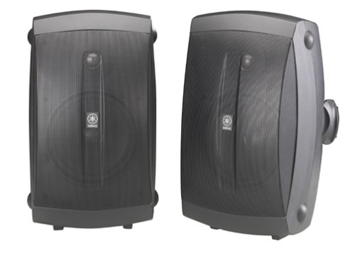 Yamaha NS-AW350B All-Weather Indoor/Outdoor 2-Way Speakers - Black (Pair)Video &amp; Audio<br>Yamaha NS-AW350B All-Weather Indoor/Outdoor 2-Way Speakers - Black (Pair)<br>