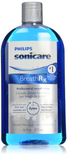 Philips Sonicare Breathrx Antibacterial Mouth Rinse, 16 FL. OZ.Health &amp; Beauty<br>Philips Sonicare Breathrx Antibacterial Mouth Rinse, 16 FL. OZ.<br>