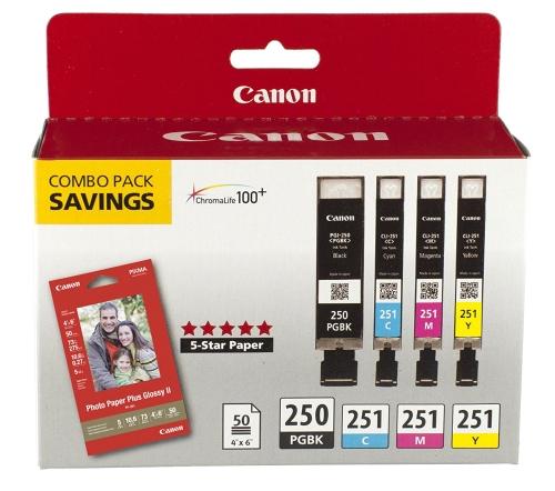 Canon PGI-250/CLI-251 Combo PackCameras &amp; Photo Accessories<br>Canon PGI-250/CLI-251 Combo Pack<br>