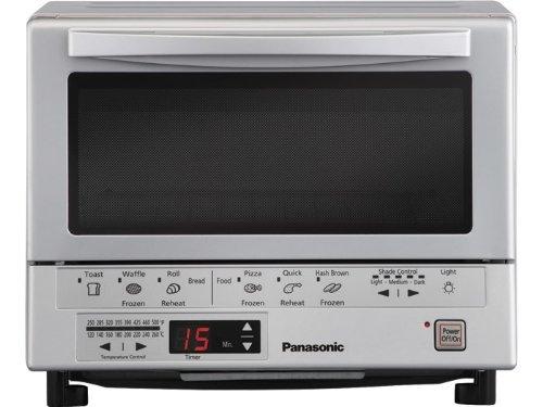 Panasonic NB-G110P Flash Xpress Toaster Oven, SilverHome &amp; Garden<br>Panasonic NB-G110P Flash Xpress Toaster Oven, Silver<br>