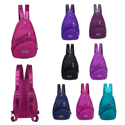 New Fashion Women Waterproof Bag Multi Carrying Methods Zipper Small Bag Traveling Backpack Shoulder Bag Chest BagApparel &amp; Jewelry<br>New Fashion Women Waterproof Bag Multi Carrying Methods Zipper Small Bag Traveling Backpack Shoulder Bag Chest Bag<br>