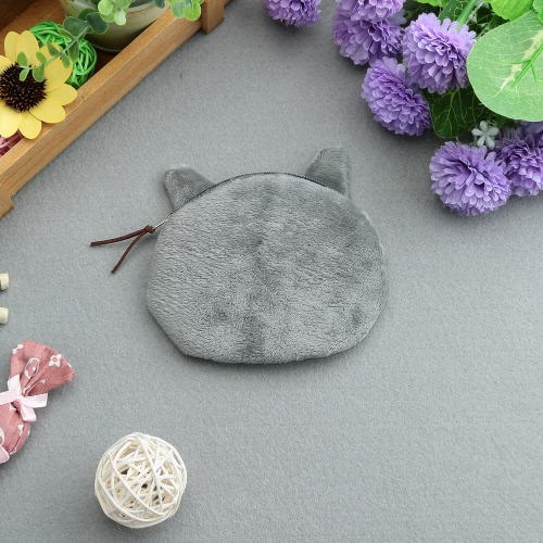 Cute Fashion Women Coin Purse Cat Animal Head Print Zipper Closure Mini Wallet Small Clutch BagApparel &amp; Jewelry<br>Cute Fashion Women Coin Purse Cat Animal Head Print Zipper Closure Mini Wallet Small Clutch Bag<br>