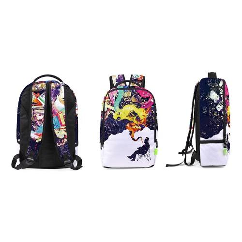 Charming Women Men 3D Splash-ink Travel Satchel Backpack Rucksack Shoulder Bookbag School BagApparel &amp; Jewelry<br>Charming Women Men 3D Splash-ink Travel Satchel Backpack Rucksack Shoulder Bookbag School Bag<br>
