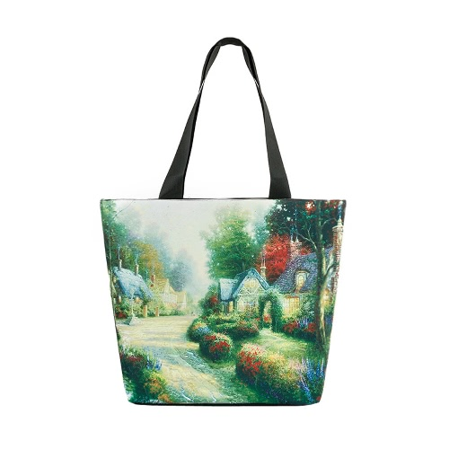 New Vintage Women Handbag Landscape Print Large Capacity Casual Shoulder Bag ToteApparel &amp; Jewelry<br>New Vintage Women Handbag Landscape Print Large Capacity Casual Shoulder Bag Tote<br>