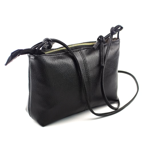 Fashion Women Casual Shoulder Bag Soft PU Leather Zipper Small Vintage Cross-Body Messenger BagApparel &amp; Jewelry<br>Fashion Women Casual Shoulder Bag Soft PU Leather Zipper Small Vintage Cross-Body Messenger Bag<br>