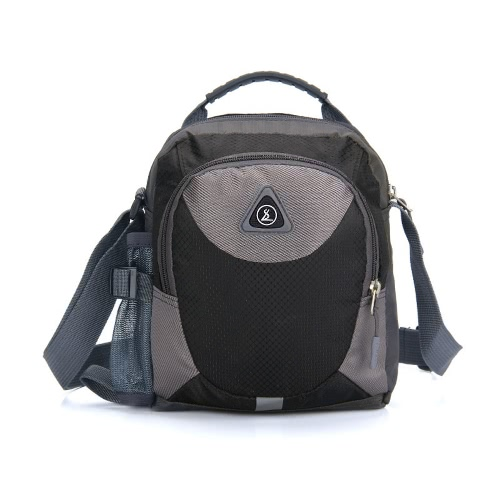 Women Men Small Shoulder Bag Waterproof Nylon Travel Sports Outdoor Zipper Messenger Casual Crossbody BagApparel &amp; Jewelry<br>Women Men Small Shoulder Bag Waterproof Nylon Travel Sports Outdoor Zipper Messenger Casual Crossbody Bag<br>