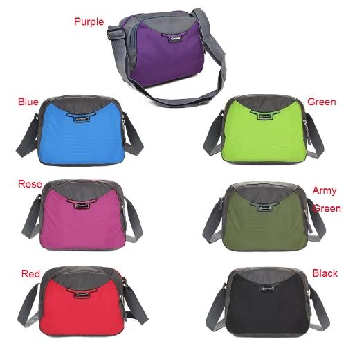 Women Nylon Crossbody Bag Zipper Adjustable Strap Pockets Casual Bag Travel Outdoor Shoulder BagApparel &amp; Jewelry<br>Women Nylon Crossbody Bag Zipper Adjustable Strap Pockets Casual Bag Travel Outdoor Shoulder Bag<br>