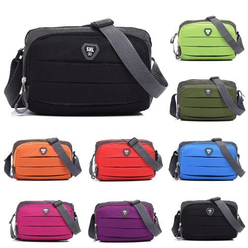 Women Nylon Crossbody Bag Pockets Zipper Adjustable Strap Casual Outdoor Bag Travel Shoulder BagApparel &amp; Jewelry<br>Women Nylon Crossbody Bag Pockets Zipper Adjustable Strap Casual Outdoor Bag Travel Shoulder Bag<br>