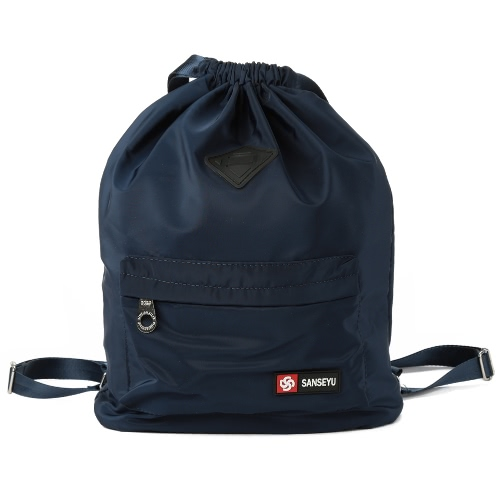 Women Nylon Drawstring Backpack Bucket Fitness Waterproof Adjustable Strap Casual Outdoor Sports BagApparel &amp; Jewelry<br>Women Nylon Drawstring Backpack Bucket Fitness Waterproof Adjustable Strap Casual Outdoor Sports Bag<br>