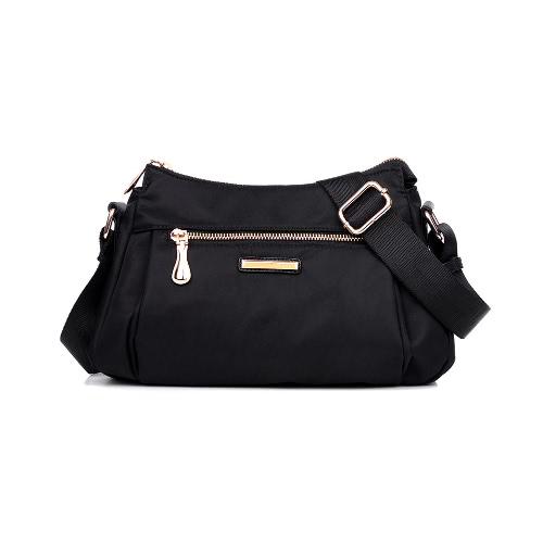 Correa para el hombro ajustable bolsa de hombro de las mujeres de nylon Oxford Crossbody impermeable durable bolsa de viaje