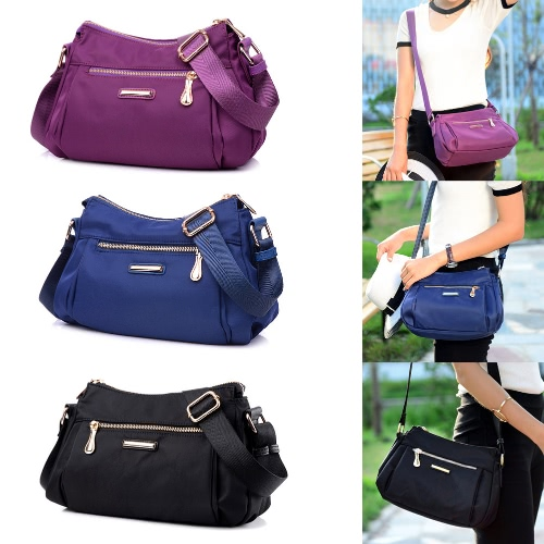Women Nylon Oxford Crossbody Shoulder Bag Adjustable Shoulder Strap Waterproof Durable Travel BagApparel &amp; Jewelry<br>Women Nylon Oxford Crossbody Shoulder Bag Adjustable Shoulder Strap Waterproof Durable Travel Bag<br>