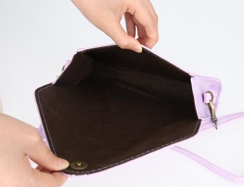 New Fashion Women Shoulder Bag PU Leather V Shape Flap Solid Design Crossbody Messenger BagApparel &amp; Jewelry<br>New Fashion Women Shoulder Bag PU Leather V Shape Flap Solid Design Crossbody Messenger Bag<br>