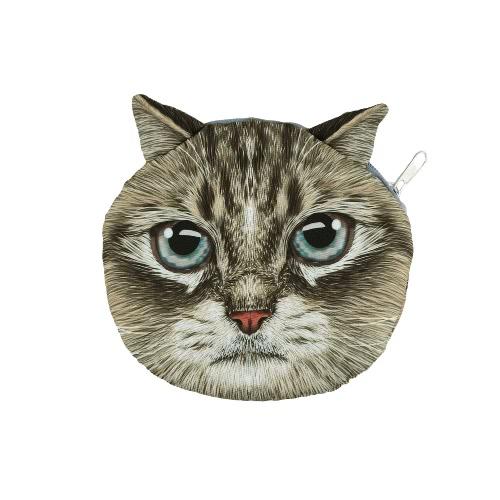 New Cute Women Shoulder Bag Cat Face Cartoon Print Zipper Closure Messenger Clutch Coin Purse BagApparel &amp; Jewelry<br>New Cute Women Shoulder Bag Cat Face Cartoon Print Zipper Closure Messenger Clutch Coin Purse Bag<br>