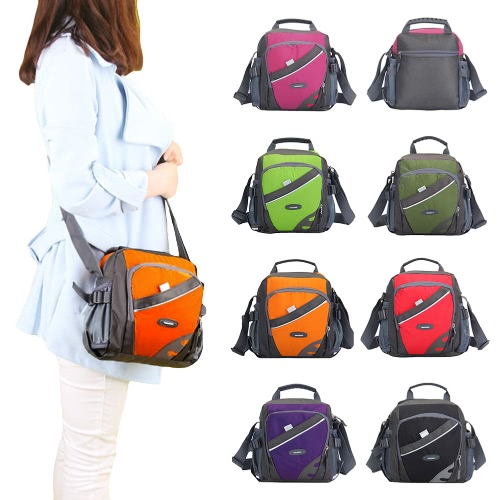 New Unisex Nylon Crossbody Bag Waterproof Contrast Color Zipper Multi-Pockets Casual Sport Outdoor Small Shoulder Bags HandbagApparel &amp; Jewelry<br>New Unisex Nylon Crossbody Bag Waterproof Contrast Color Zipper Multi-Pockets Casual Sport Outdoor Small Shoulder Bags Handbag<br>