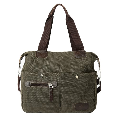 Retro Large Capacity Canvas Handbag Casual Travel Totes for Women and MenApparel &amp; Jewelry<br>Retro Large Capacity Canvas Handbag Casual Travel Totes for Women and Men<br>