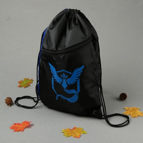 New Unisex Nylon Drawstring Bag Backpack Water Proof Zipper Contrast Color Print Large Capacity Casual Pouch BagApparel &amp; Jewelry<br>New Unisex Nylon Drawstring Bag Backpack Water Proof Zipper Contrast Color Print Large Capacity Casual Pouch Bag<br>