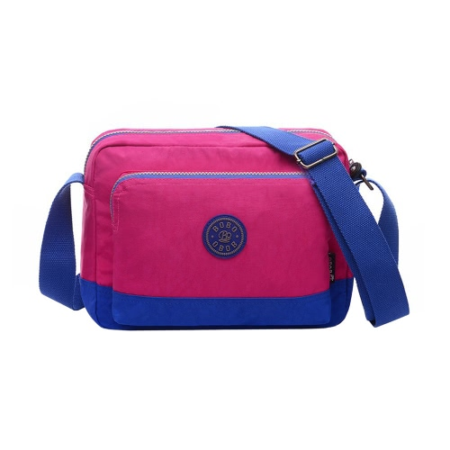 Casual Muti Color Nylon Womens Crossbody Bag with Zipper StrapApparel &amp; Jewelry<br>Casual Muti Color Nylon Womens Crossbody Bag with Zipper Strap<br>