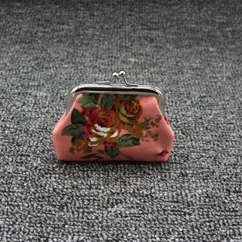 New Women Mini Clutch Flower Wallet Hasp Canvas Purse Cute Coin Holder Case BagApparel &amp; Jewelry<br>New Women Mini Clutch Flower Wallet Hasp Canvas Purse Cute Coin Holder Case Bag<br>