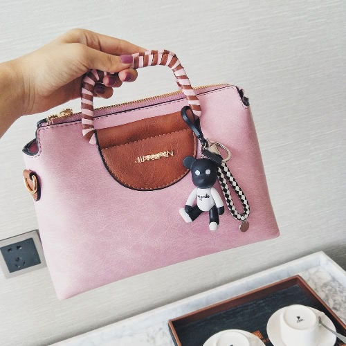 Vintage Tote Bag Women Leather Handbag Ladies Party Shoulder Messenger Bag Fashion Top-Handle BagApparel &amp; Jewelry<br>Vintage Tote Bag Women Leather Handbag Ladies Party Shoulder Messenger Bag Fashion Top-Handle Bag<br>