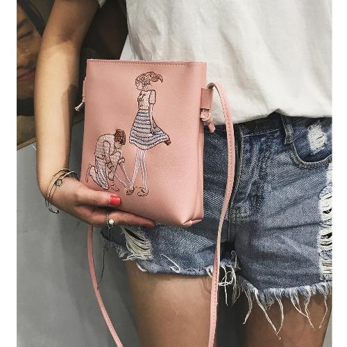 New PU Leather Shoulder Bag for Women Cute Cartoon Print Casual Crossbody Bags Girls Mini Bag ToteApparel &amp; Jewelry<br>New PU Leather Shoulder Bag for Women Cute Cartoon Print Casual Crossbody Bags Girls Mini Bag Tote<br>