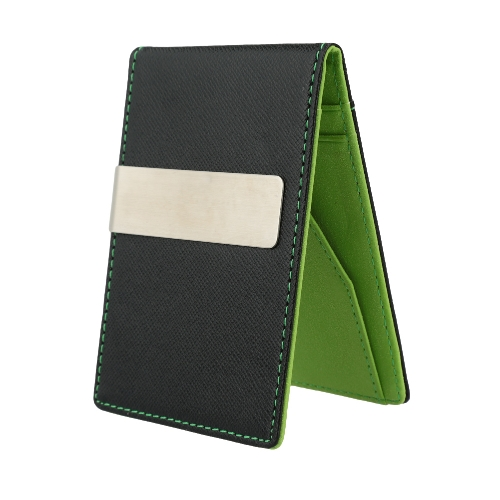 Mens Money Clip Faux Leather Slim Wallet ID Credit Card HolderApparel &amp; Jewelry<br>Mens Money Clip Faux Leather Slim Wallet ID Credit Card Holder<br>