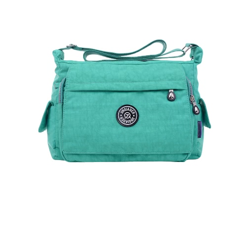 Caual Outdoor Crossbody Bag Waterproof Nylon Pockets Zipper Pendant Shoulder BagApparel &amp; Jewelry<br>Caual Outdoor Crossbody Bag Waterproof Nylon Pockets Zipper Pendant Shoulder Bag<br>