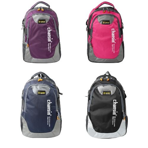 Fashion Men Women Travel Backpack Casual School Bag Contrast Unisex Laptop Bag Hiking BackpackApparel &amp; Jewelry<br>Fashion Men Women Travel Backpack Casual School Bag Contrast Unisex Laptop Bag Hiking Backpack<br>