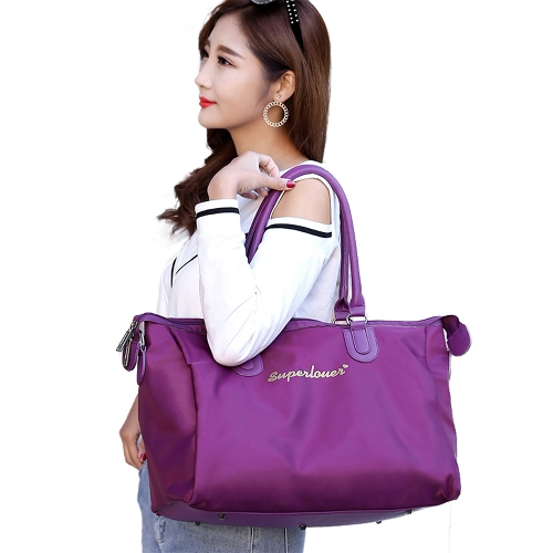 Vintage Women Handbag Nylon Waterproof Zipper Large Capacity Multifunction Casual Tote Travelling Luggage BagApparel &amp; Jewelry<br>Vintage Women Handbag Nylon Waterproof Zipper Large Capacity Multifunction Casual Tote Travelling Luggage Bag<br>