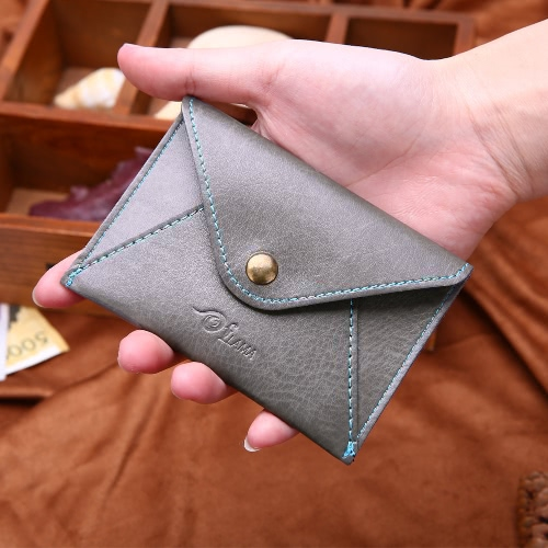 Fashion Men Faux Leather Mini Wallet Bifold ID Credit Card Holder Snap Coin Purse Envelope CaseApparel &amp; Jewelry<br>Fashion Men Faux Leather Mini Wallet Bifold ID Credit Card Holder Snap Coin Purse Envelope Case<br>