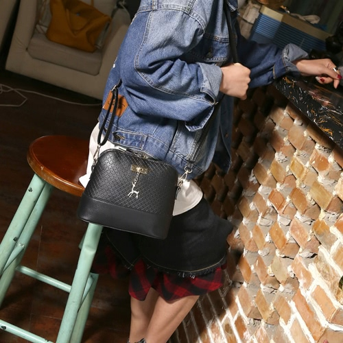 Women Messenger Bag Fashion Mini Bag With Deer Toy Shell Shape Bag Summer Women Shoulder BagApparel &amp; Jewelry<br>Women Messenger Bag Fashion Mini Bag With Deer Toy Shell Shape Bag Summer Women Shoulder Bag<br>