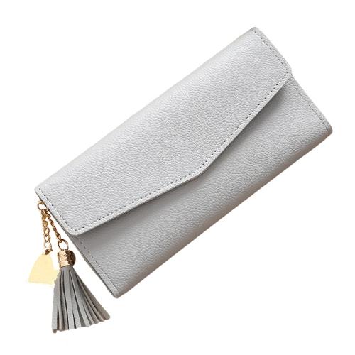 Fashion Women Long PU Wallet Purse High Quality Cash Credit Card Holder Clutch BagApparel &amp; Jewelry<br>Fashion Women Long PU Wallet Purse High Quality Cash Credit Card Holder Clutch Bag<br>