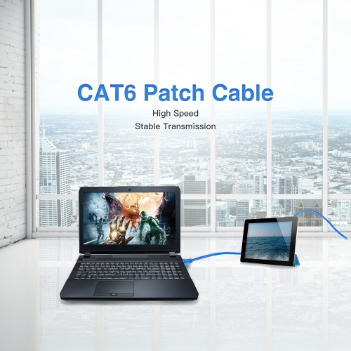 Network Patch Cable 3 FT Cat6 550MHz 10Gbps RJ45 Computer Networking CordComputer &amp; Stationery<br>Network Patch Cable 3 FT Cat6 550MHz 10Gbps RJ45 Computer Networking Cord<br>