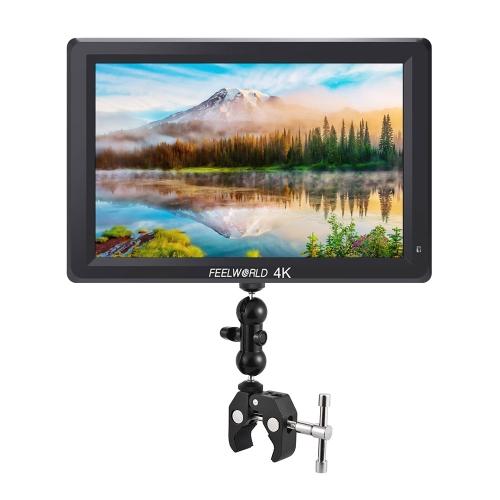 Feelworld T756 Monitor da 7 pollici IPS Full HD 4K sulla fotocamera