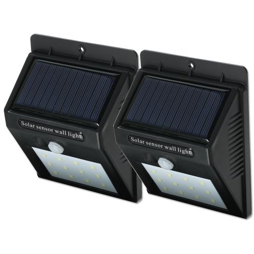 12 LED Solar Sensor Waterproof  Wall LightsSmart Device &amp; Safety<br>12 LED Solar Sensor Waterproof  Wall Lights<br>