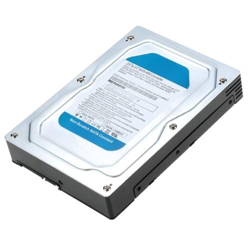 Single Bay 2.5 to 3.5 Inch SATA Converter Adapter USB 3.0 External Hard Drive Enclosure Internal HDD &amp; SSD Tray Caddy Internal MComputer &amp; Stationery<br>Single Bay 2.5 to 3.5 Inch SATA Converter Adapter USB 3.0 External Hard Drive Enclosure Internal HDD &amp; SSD Tray Caddy Internal M<br>