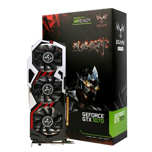 Colorful NVIDIA GeForce GTX iGame 1070 видеокарта 8Гб GDDR5