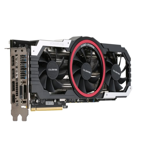 Colorfire RX 580 Ustorm-8GD5 256bit Gaming Graphics Card  with 3 Cooling FansComputer &amp; Stationery<br>Colorfire RX 580 Ustorm-8GD5 256bit Gaming Graphics Card  with 3 Cooling Fans<br>
