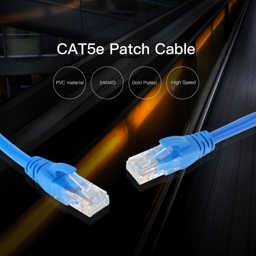 Network Patch Cable 3 FT Cat5e 550MHz 10Gbps RJ45 Computer Networking CordComputer &amp; Stationery<br>Network Patch Cable 3 FT Cat5e 550MHz 10Gbps RJ45 Computer Networking Cord<br>