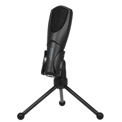 Q3B USB Condenser Microphone Plug and Play Microphone with Folding Tripod Stand for Home Studio Computer BlackComputer &amp; Stationery<br>Q3B USB Condenser Microphone Plug and Play Microphone with Folding Tripod Stand for Home Studio Computer Black<br>
