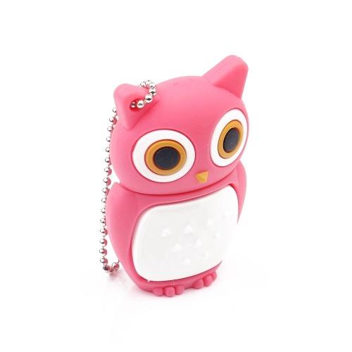 Cute Cartoon Owl Shape USB Flash Drive USB 2.0 Flash Disk