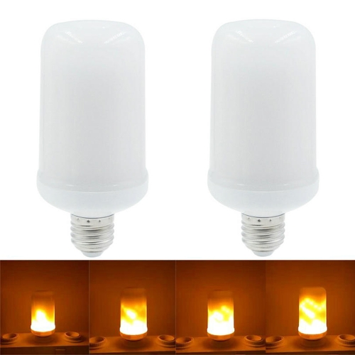 2PCS SMD2835 LED Flame Flickering Effect Light BulbsHome &amp; Garden<br>2PCS SMD2835 LED Flame Flickering Effect Light Bulbs<br>