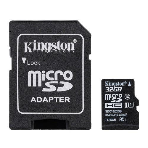 Kingston Class 10 8GB 16GB 32GB 64GB MicroSD TF Flash Memory Card 48MB/s with Card AdapterComputer &amp; Stationery<br>Kingston Class 10 8GB 16GB 32GB 64GB MicroSD TF Flash Memory Card 48MB/s with Card Adapter<br>