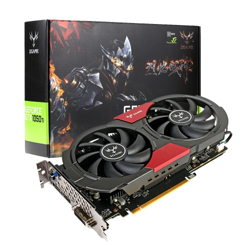 Colorful NVIDIA GeForce GTX iGame 1050Ti GPU 4GB 128bit Gaming 4096M GDDR5  Video Graphics CardComputer &amp; Stationery<br>Colorful NVIDIA GeForce GTX iGame 1050Ti GPU 4GB 128bit Gaming 4096M GDDR5  Video Graphics Card<br>