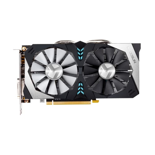 MAXSUN GeForce GTX1060 Terminator 6G Gaming Video Graphics Card 1506-1708 / 8000MHz 6G / 192bit GDDR5 PCI-E X16 3,0 HDMI + DP + DVI порт 2 Охлаждающие вентиляторы VR Ready
