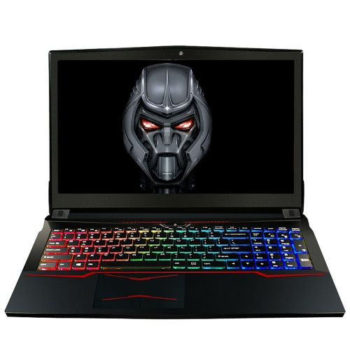 HASEE God of War T6TI-X5S Laptop PC portátil para procesadores Intel i5-7300HQ GTX1050Ti 4G GDDR5 8 GB DDR4 1TB + 128G 15.6