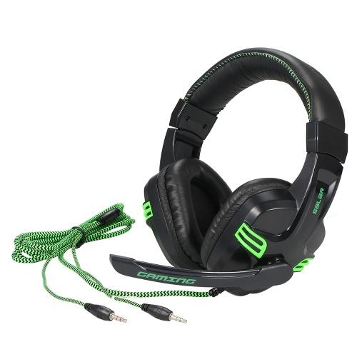Salar KX101 3,5-мм проводная игровая гарнитура HiFi Deep Bass Headphone с микрофоном