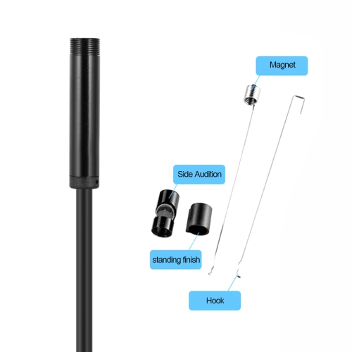 3 in 1 5.5mm 5m Inspection Camera Endoscope Type-C &amp; Micro USB &amp; USB Borescope Waterproof IP67 for Android Phones PC BlackComputer &amp; Stationery<br>3 in 1 5.5mm 5m Inspection Camera Endoscope Type-C &amp; Micro USB &amp; USB Borescope Waterproof IP67 for Android Phones PC Black<br>